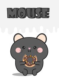 Simple Kawaii Black Mouse Theme