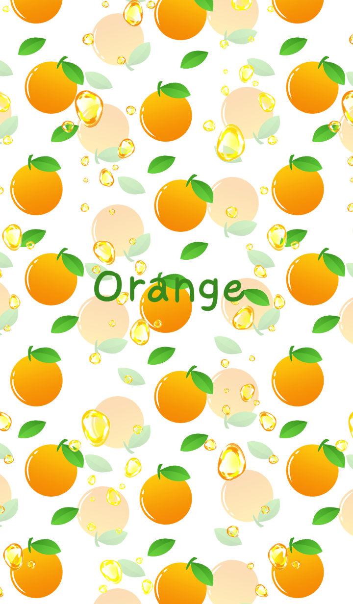 Orange soda -White-