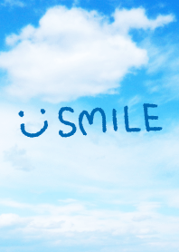 The sky is clean-smile21-