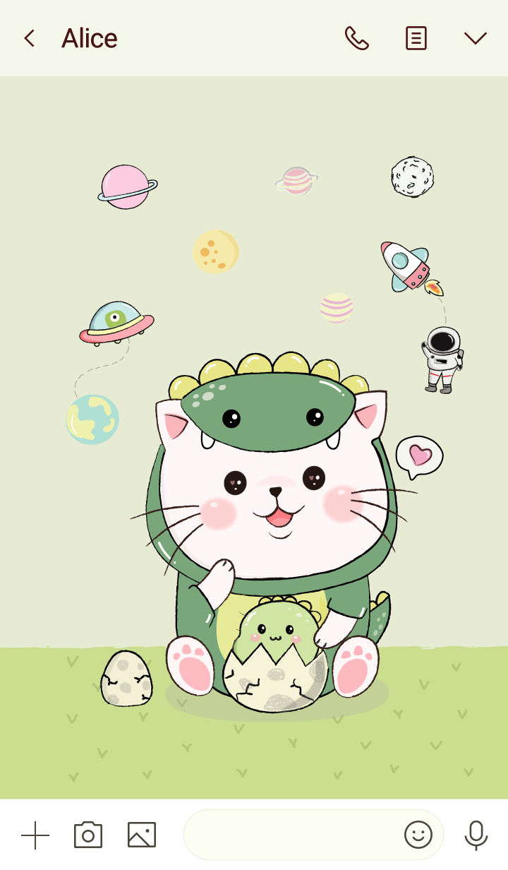 Cat Dino Costume.