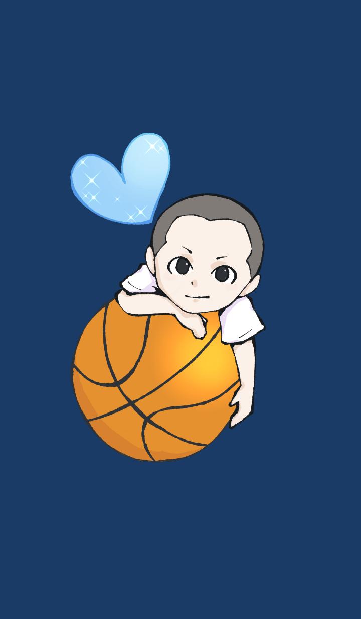 Boy in Basketball club 04