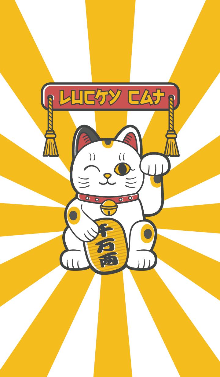 LUCKY CAT #1 J