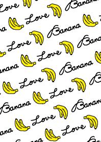 Banana LOVE-white-joc