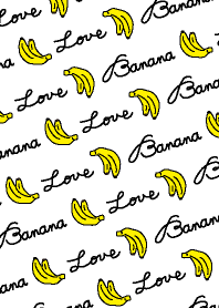 Banana LOVE-white-joc