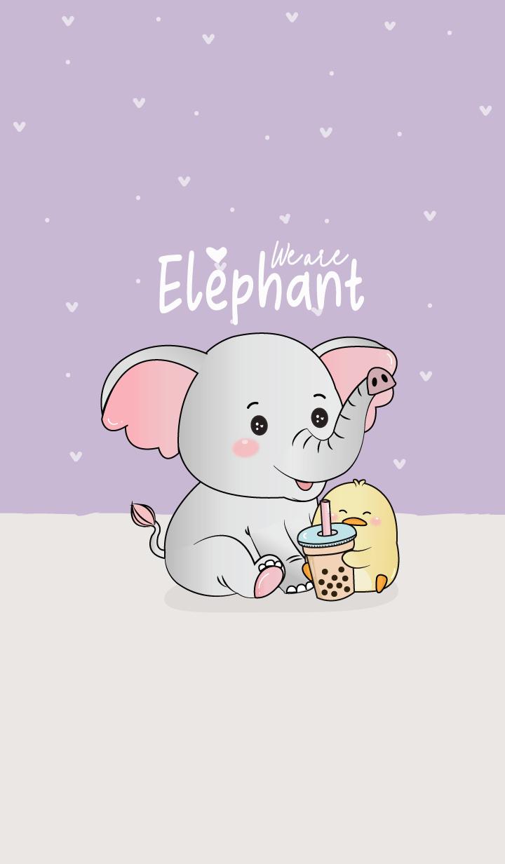 We are Elephant. (Purple)
