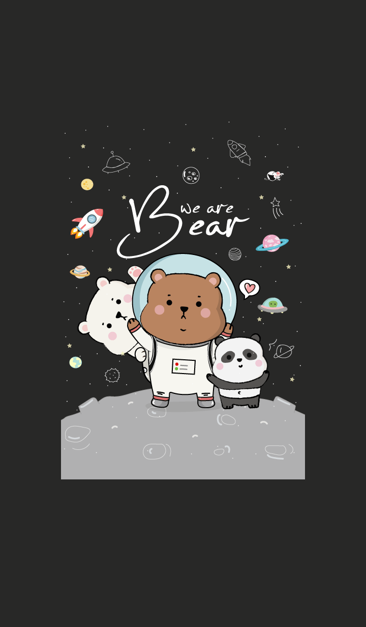 We are Bear On Space.