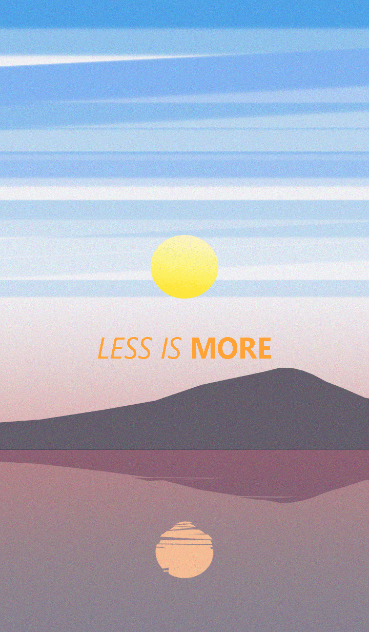 Less is more - #30 Nature