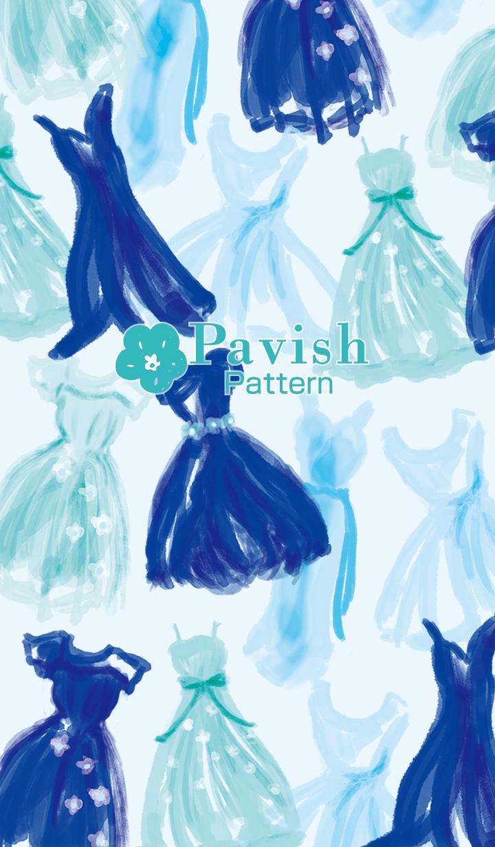 Something Blue-Pavish Pattern-
