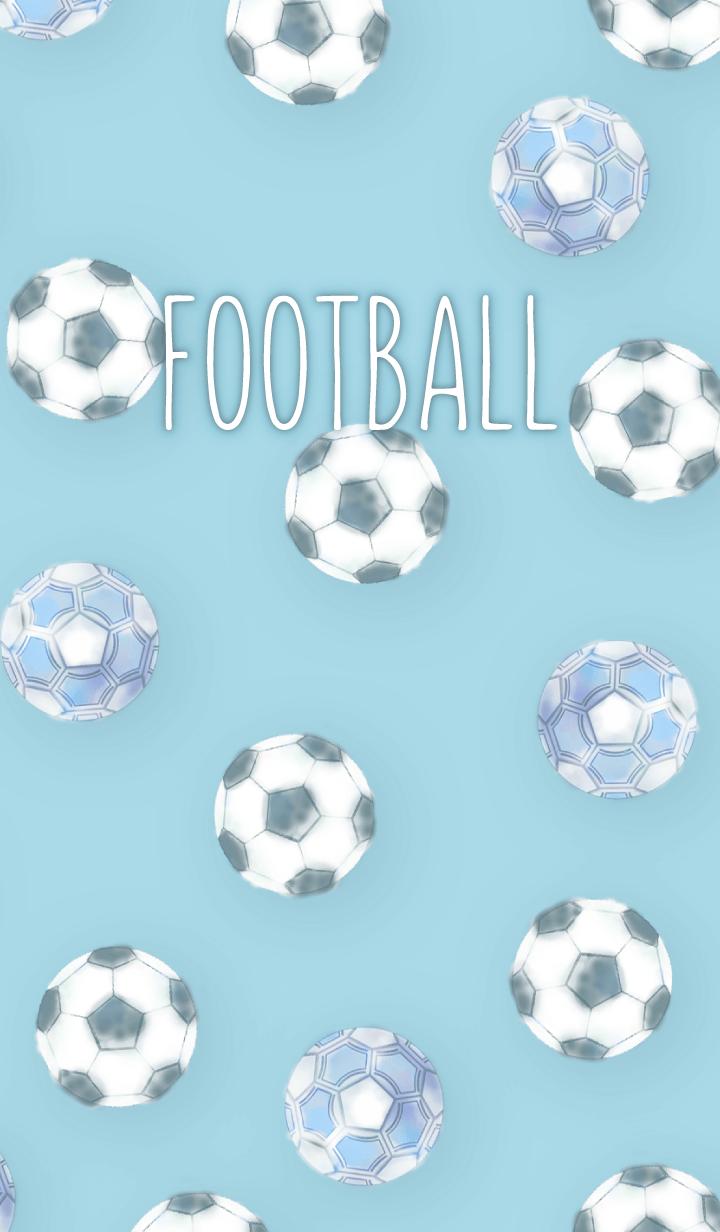 FootBall Theme KIYAJIver blue
