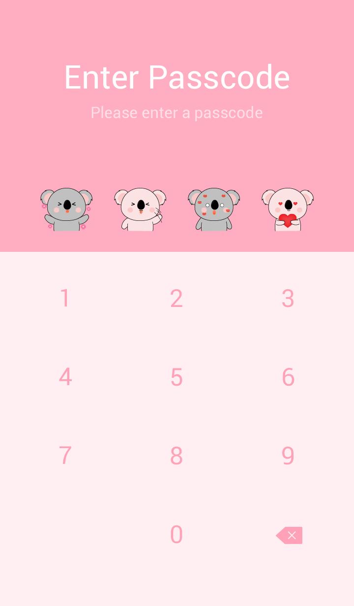 Cute Cute Sum Koala Theme