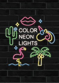 Color neon lights JP