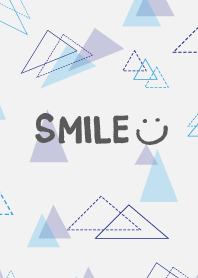 The blue triangle - smile13-