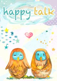 happy talk -Lucky Owl-