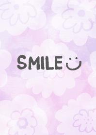 Aquarelle spread White flower smile13