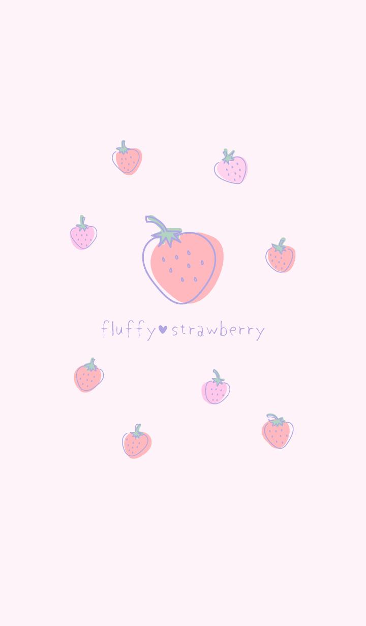 솜털 딸기 / 핑크 WV