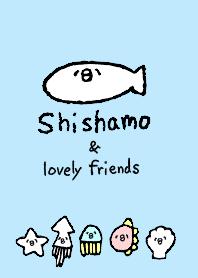 Here comes the shishamo fish!