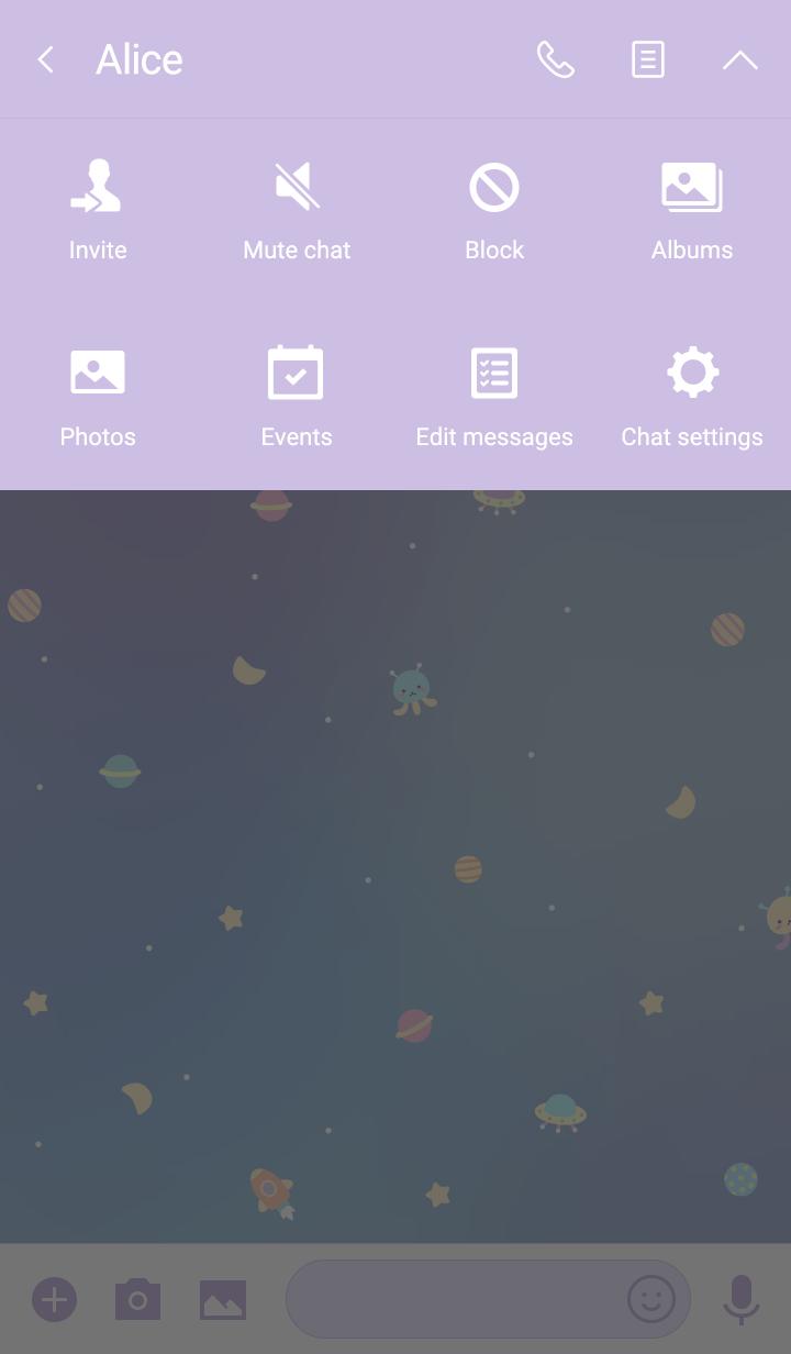 Tiny Space: Purple Rainbow Sky
