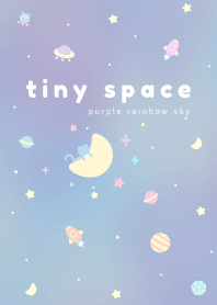 Tiny Space: Purple Rainbow Sky