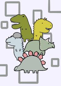 恐龍[浅紫色]