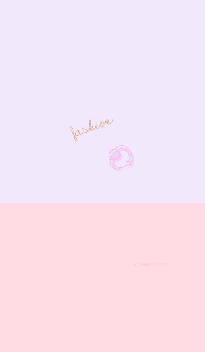 fashion pink purple