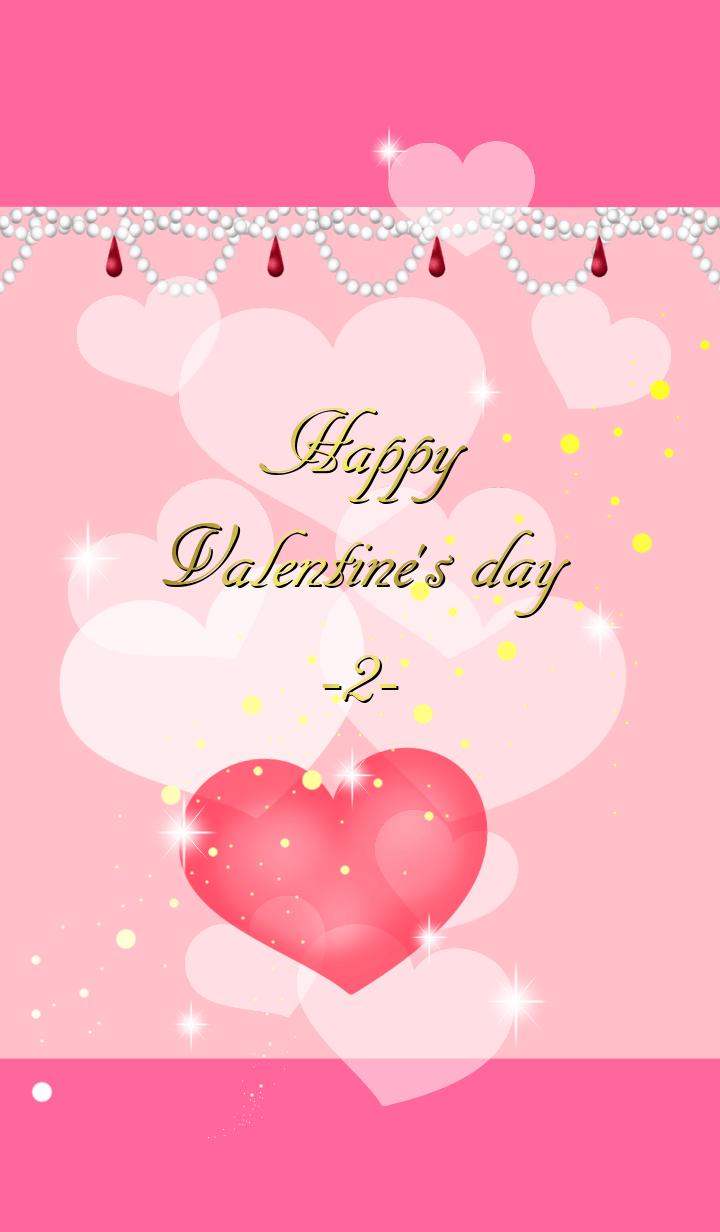 Happy valentine's heart 2