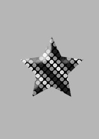 Star dot black simple