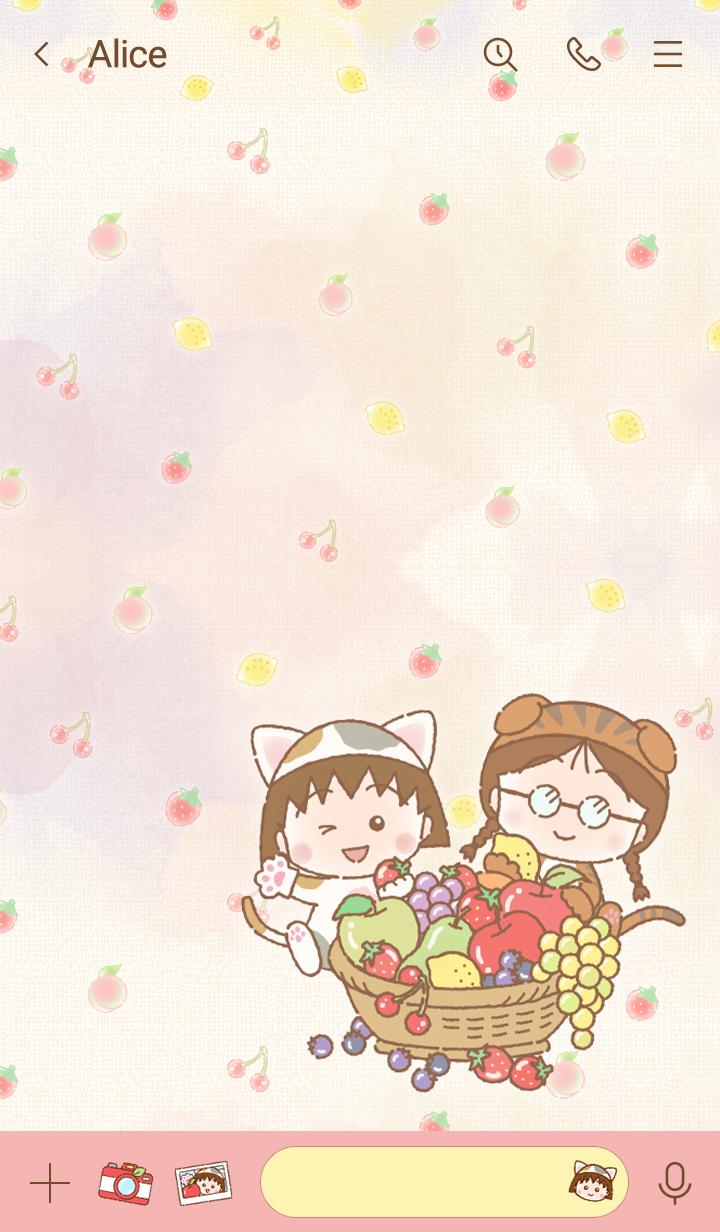 樱桃小丸子 水果篮子