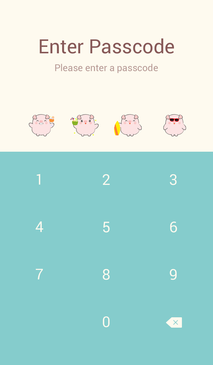 Summer Fat Pig theme