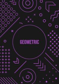 Geometric Black 22