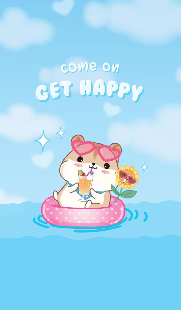 Jah -Jaa! Happy Hamster V.1