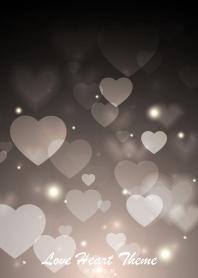 Love Heart Theme -WHITE-
