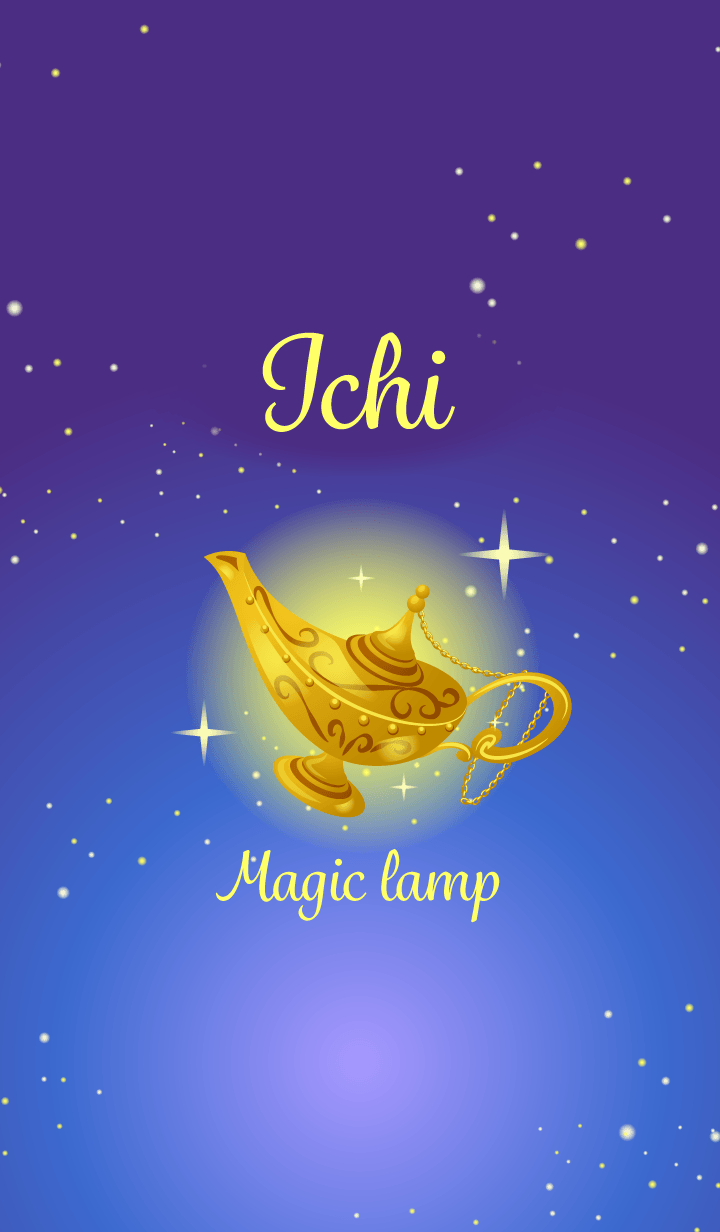 Ichi-Attract luck-Magiclamp-name