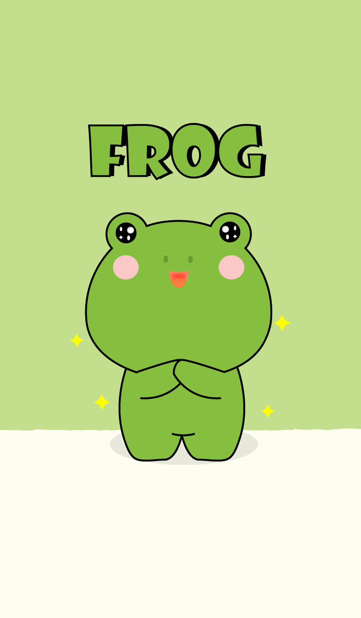 I Love Cute Frog Theme V.1