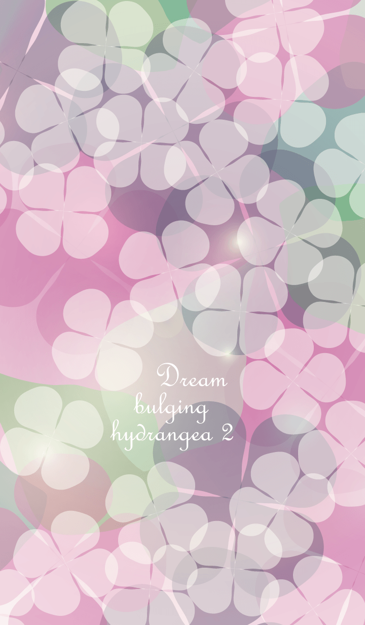 Dream bulging hydrangea Vol.2