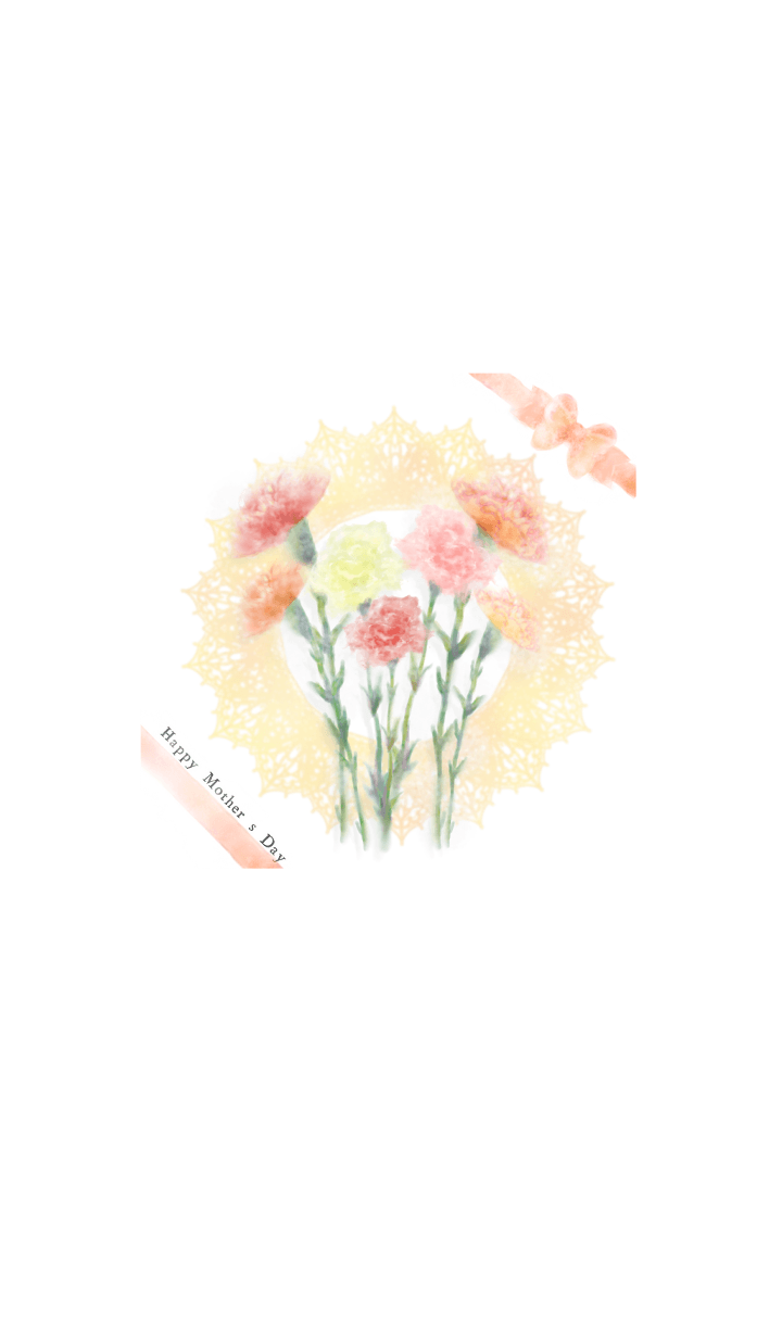 A water color Carnation