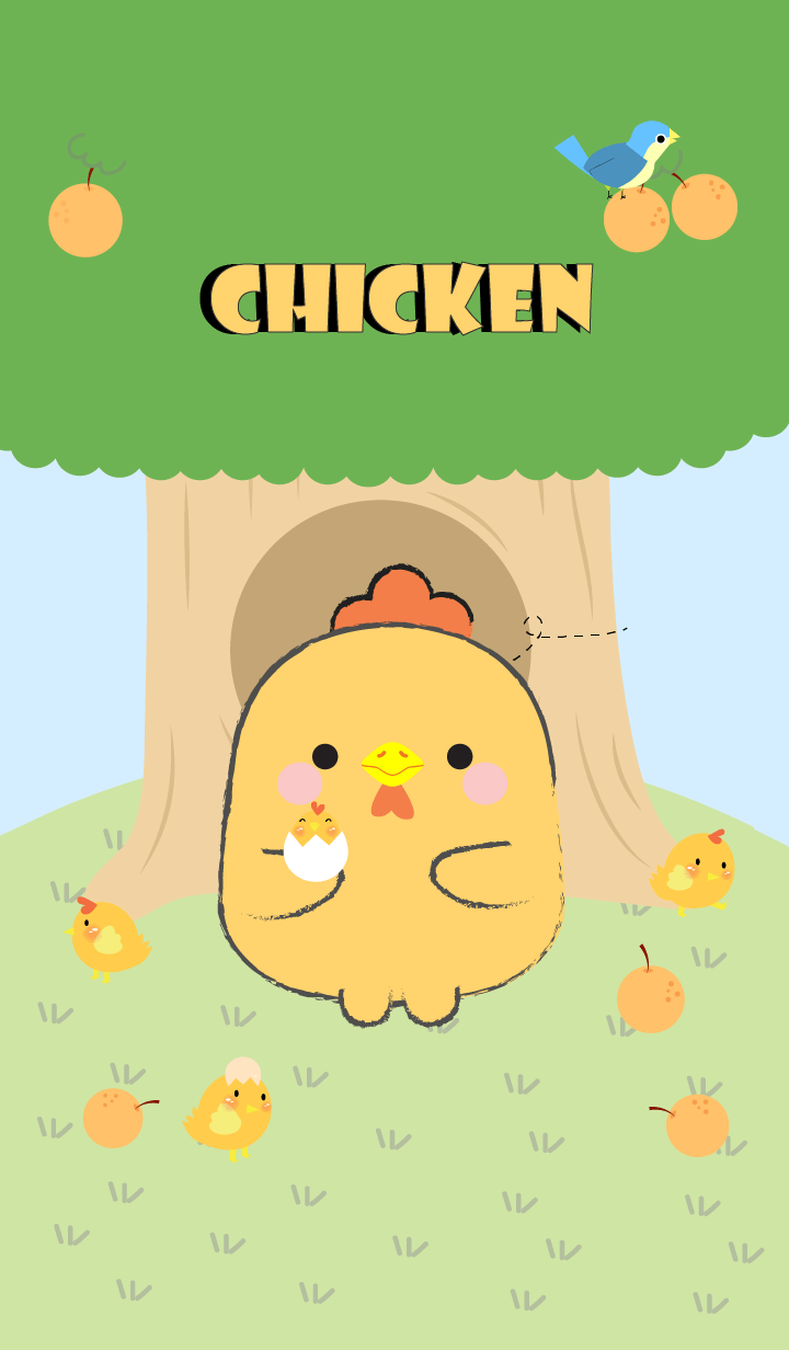 Chicken With Tree Theme (jp)