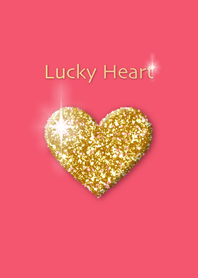 Lucky Heart ~Pink and Gold