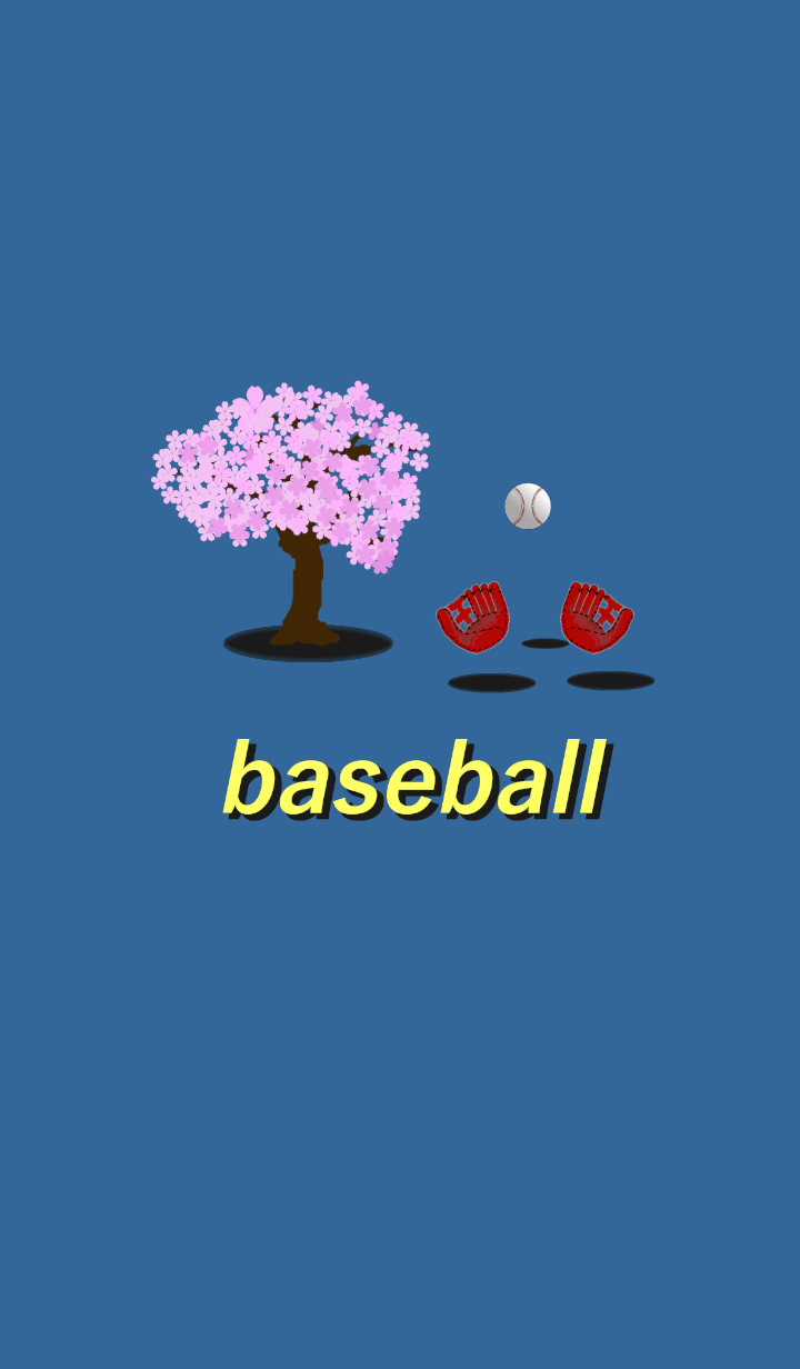 It is Cherry tree and baseball