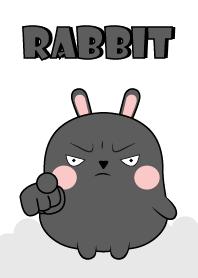 Love Cute Cute Black Rabbit