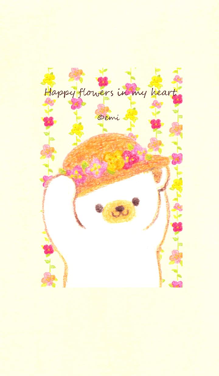 Happy flowers in my heart