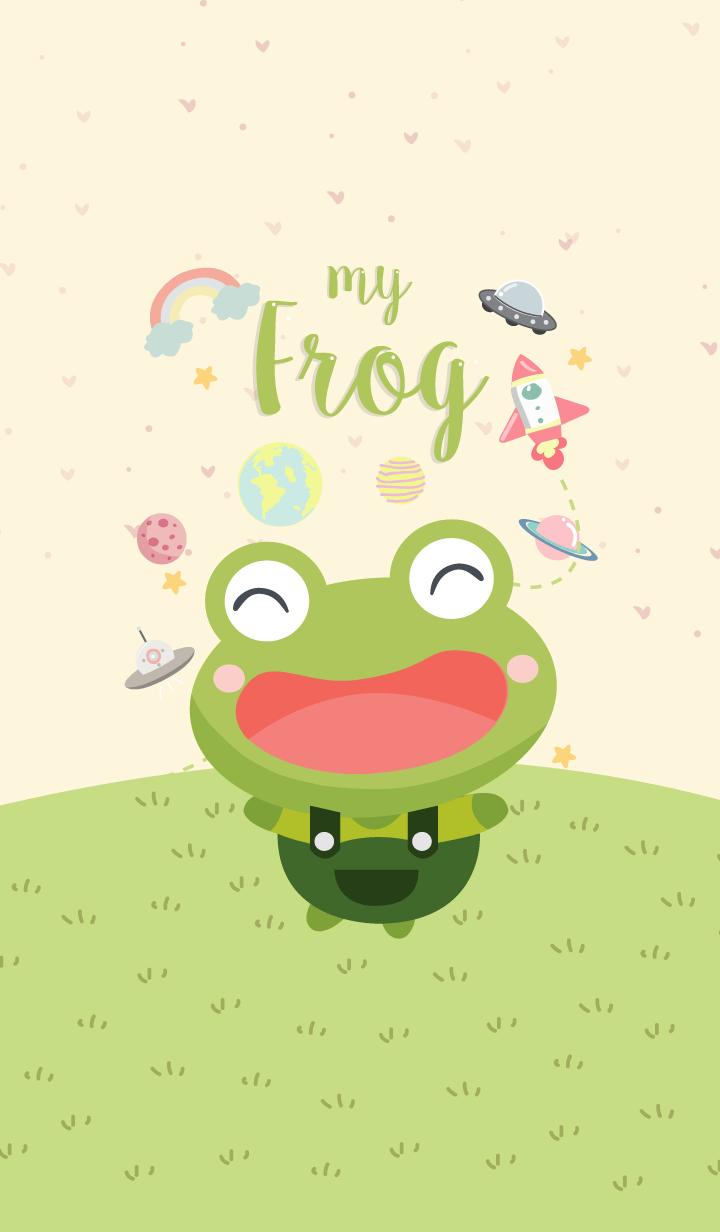 MY Frog.(Yellow Galaxy Ver.)