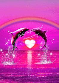 Lucky Dolphin Pink2