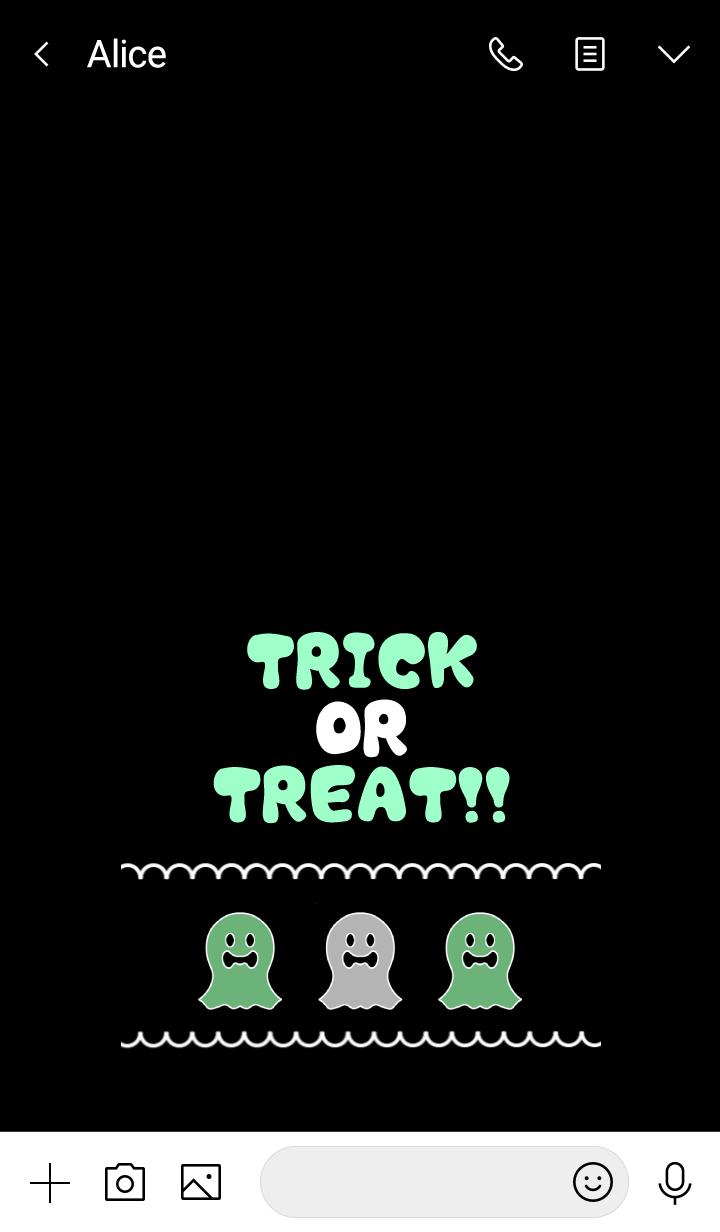 Cute! Pop! Halloween Ghost !! -14-