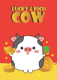 Lucky & Rich cow Theme