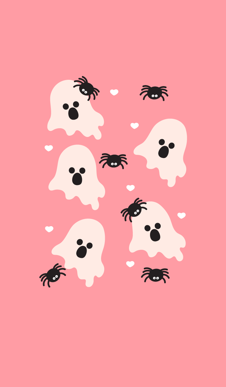Cute little ghost theme 7