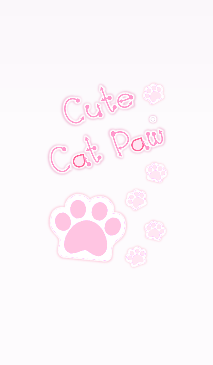 Cute Cat Paw 2! (Violet Ver.3)