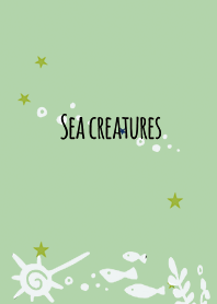 Blue Green / Sea creatures #pop