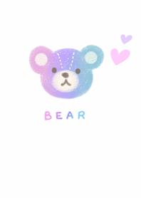 Pastel cute bear1.