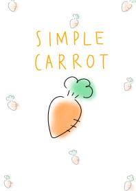 簡單 紅蘿蔔