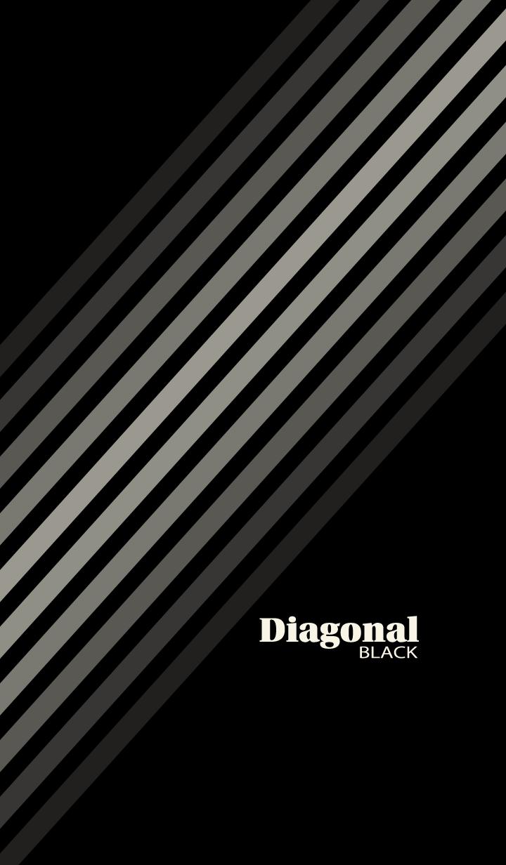 Diagonal Black